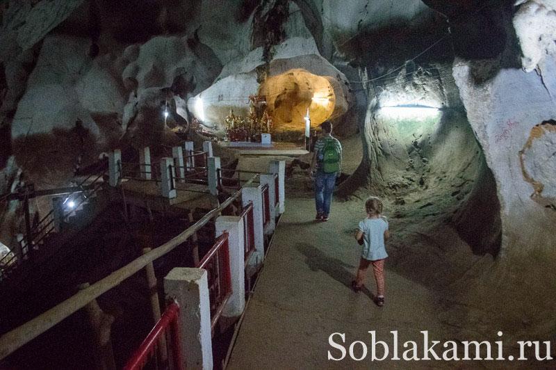 Пещера Muang On и горячие источники возле Чиангмая