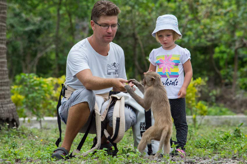 Остров обезьян Hon Lao (Monkey Island) возле Нячанга: забавные фото