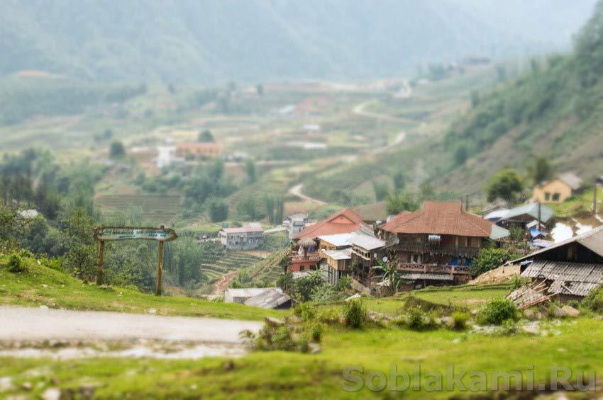 Сапа, деревня Кат Кат: быки, сопливые младенцы и грабеж среди бела дня