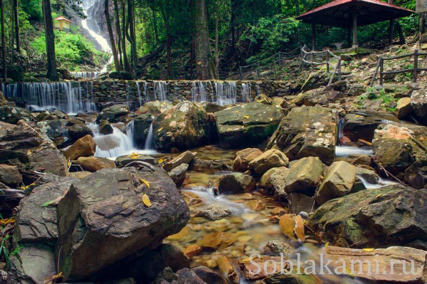 Темурун: самый красивый водопад на Лангкави