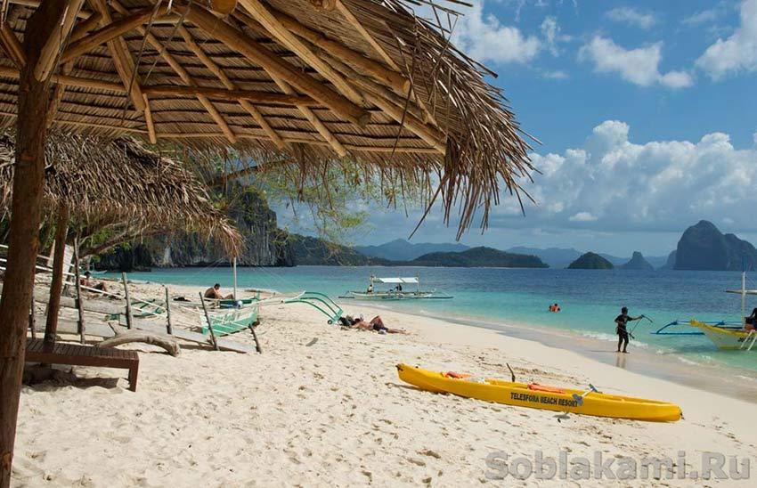 Райские острова Эль Нидо (El Nido): день первый