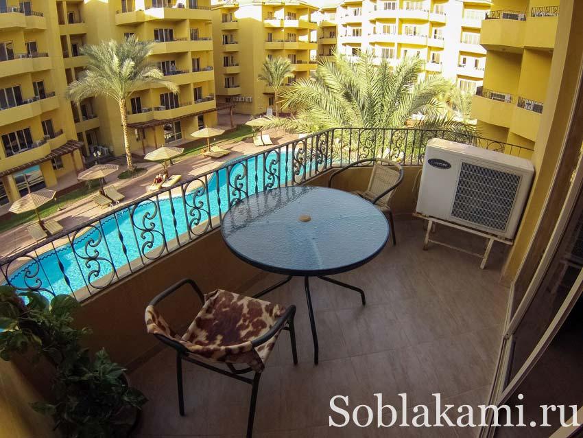 Квартира в Хургаде за 185 долларов: компаунд British Resort