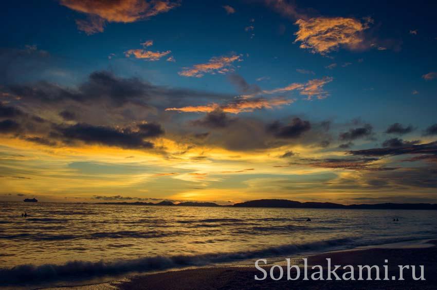 Наш кусочек рая в Таиланде - пляж Ао Нанга